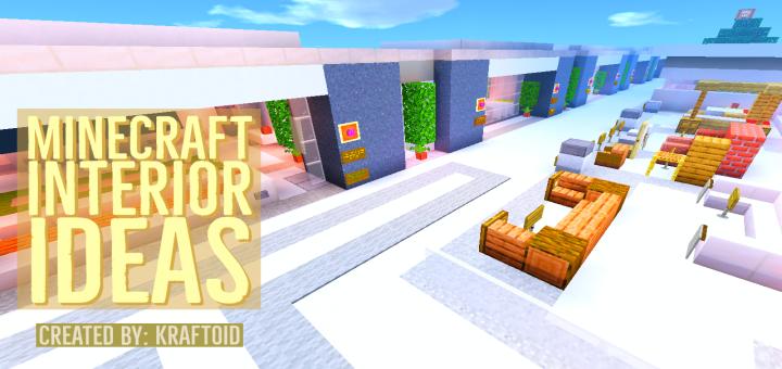 Modern Interior Ideas For Builds Minecraft Pe Maps