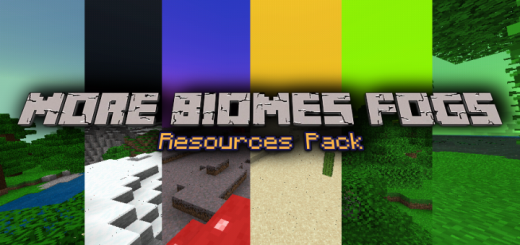 More Biomes Fogs Resources Pack (1.16 beta+ only)