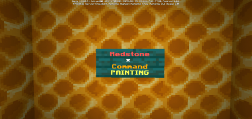 Redstone × Command Painting (1.16+ ONLY)
