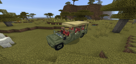 Safari Vehicle Add-on