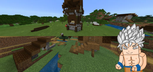 Villagers Beside Pillagers (Seed)