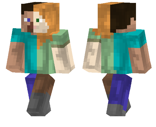 Alex Steve Minecraft Pe Skins
