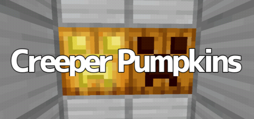 Creeper Pumpkins / Better Pumpkins