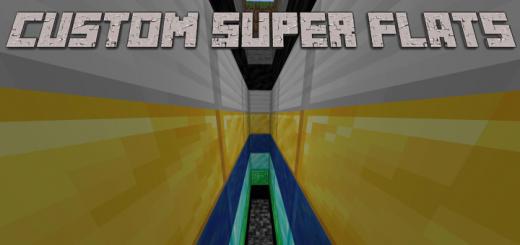 7 Super Flat Templates With .MCWORLD (Infinite) (Custom Terrain)