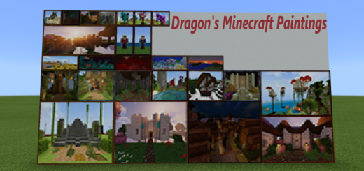 Dragon's Minecraft Paintings