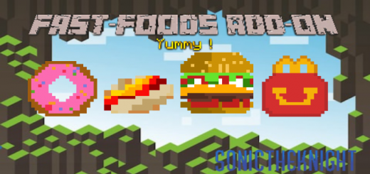 Fast-Foods Add-On (+Restaurant Map)