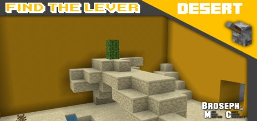 Find The Lever – Desert