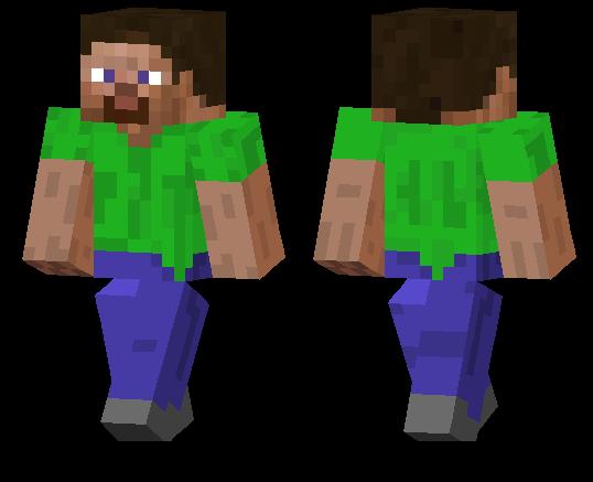 Green Shirt Steve