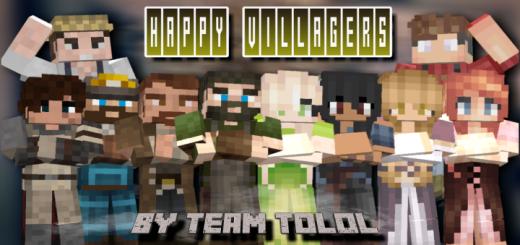 Happy Villagers Addon