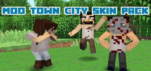 Moo Town City Skin Pack