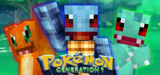 Pokémon: Gen 1 Skin Pack