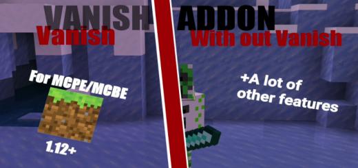 REAL WORKING Vanish Addon! (1.12+) (BugFix Update)