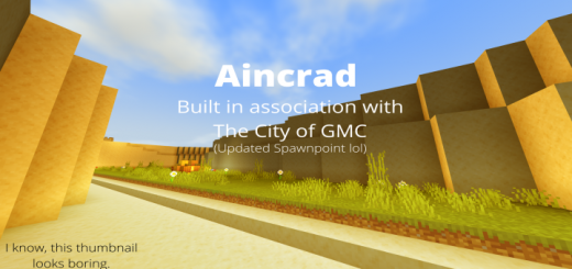 Aincrad (Pre-Alpha)