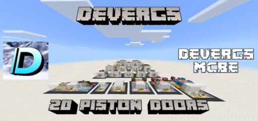 Devergs' 20 Piston Doors (1.14 Support!)