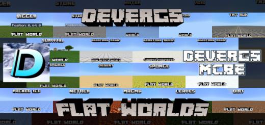 Devergs' Flat Worlds