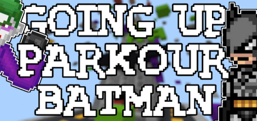 Going Up! Parkour Batman Edition