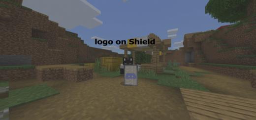 Logo on Shield