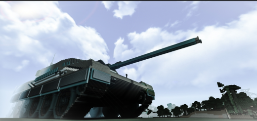 Military Tank for Minecraft