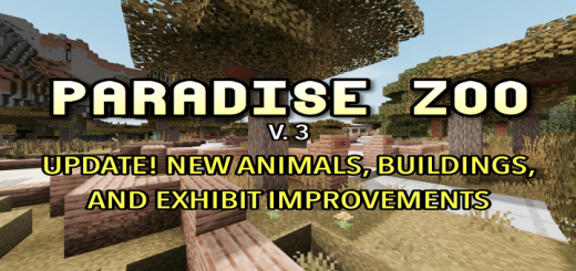 Paradise Zoo V. 3 (ROLEPLAY UPDATE)
