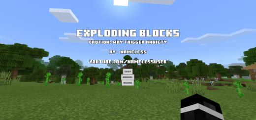 Randomly Exploding Blocks Script