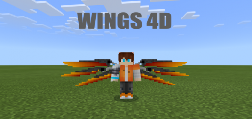 Wings 4D Texture Pack