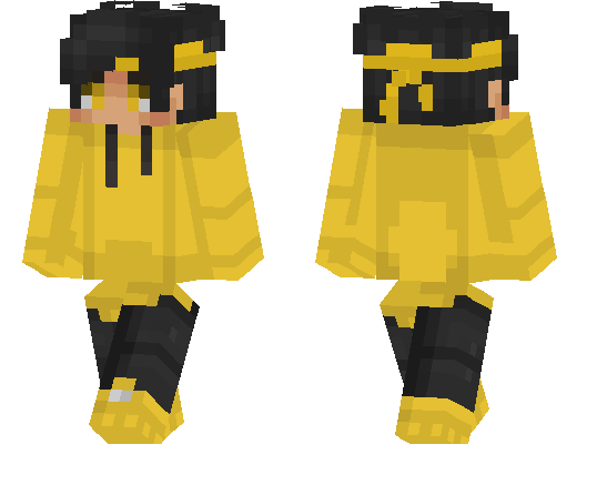 Yellow Hoodie Boy