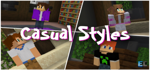 Casual Styles Skin Pack