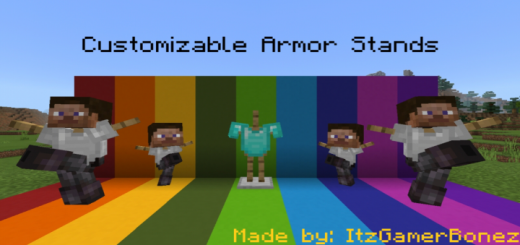 Customizable Armor Stands v.1.2