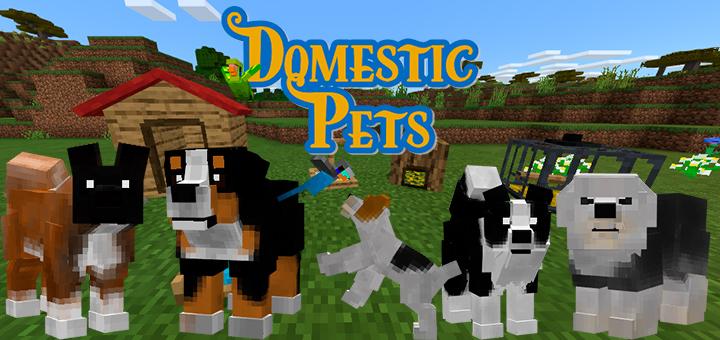Domesticpets Minecraft Pe Mods Addons