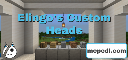 Elingo's Custom Heads Selector Texture Pack (1.14.60+)