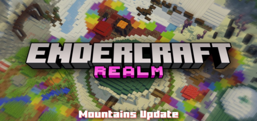 Endercraft 4.0 Minigames Realm – Mountains Update
