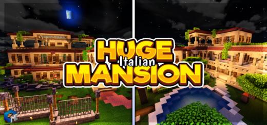 Huge Italian MANSION (Map/Building)
