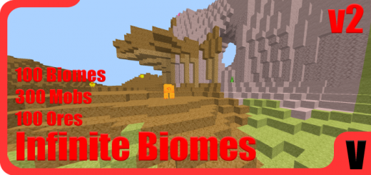 Infinite Biomes Addon