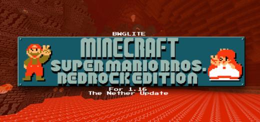 Minecraft – Super Mario Bros. Edition (1.16) (v1.1)