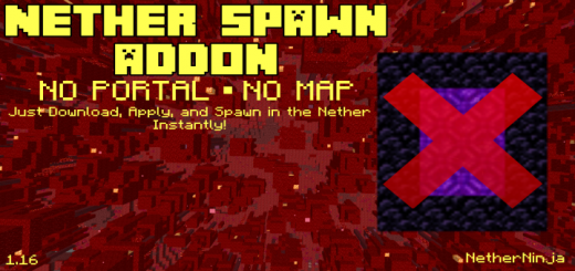 Nether Spawn Addon