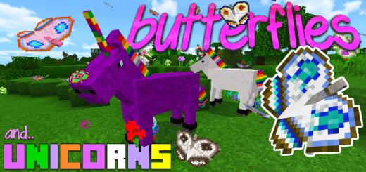 Unicorns and Butterflies Add-on!!
