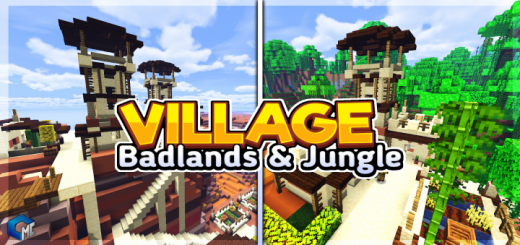 Village Badlands & Jungle (Map/Building)
