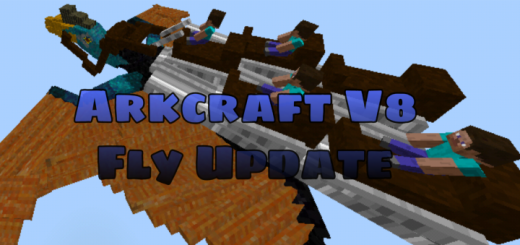 Arkcraft Add-on V8.1 Fly Update (Bug Fix)