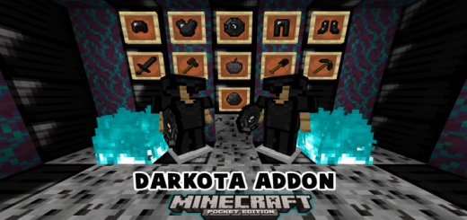 Darkota Addon – New Armor And Tools