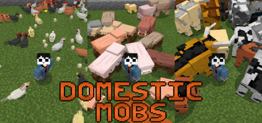 Domestic Mobs Add-on (1.14)