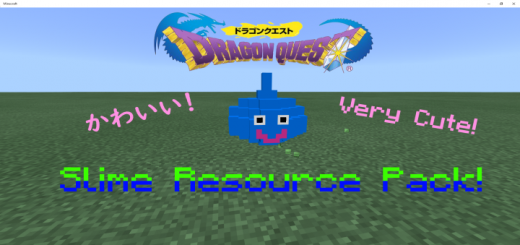 Dragon Quest Slime and Magma cube Texture Pack!