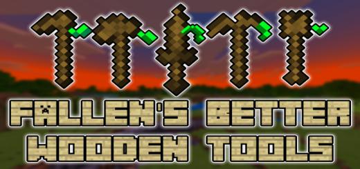 Fallen's Better Wooden Tools Pack