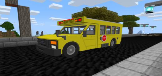 Ford E350 School Bus Addon