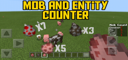 Mob and Entity Counter (No Command Block Needed)