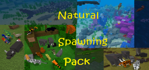 Natural Spawning Pack (for Your Own Worlds)