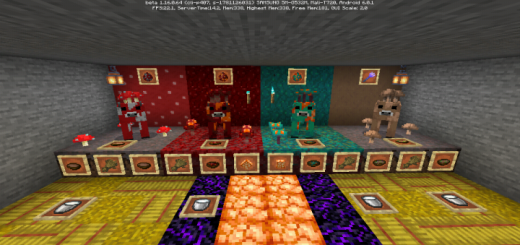 More Huge Fungus and Nether Cow´s