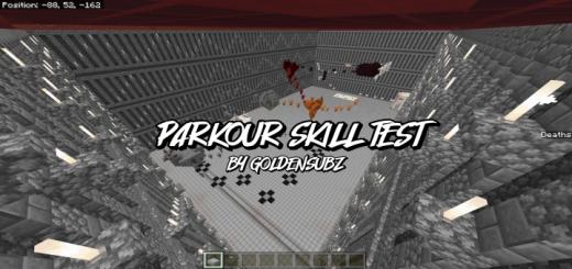 Parkour Skill Test