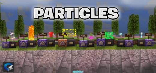 PARTICLES MCBE  (+100 PARTICLES)