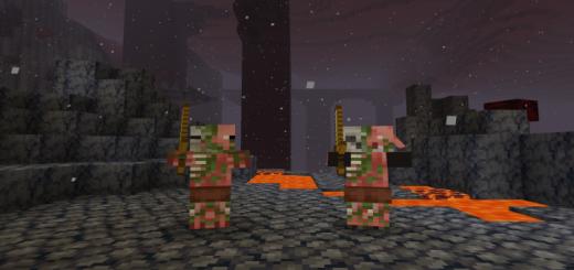 The Zombie Pigman Addon
