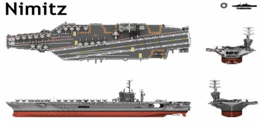 USS Nimitz and USS Dwight D.Eisenhower